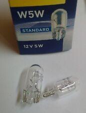 Hella 10 Stück W5W 12V 5W Glassockel Glühlampe Lampe Sockel W2,1 x 9,5d