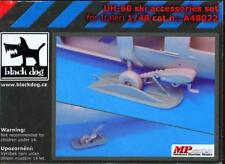 Blackdog Models 1/48 SIKORSKY UH-60 BLACK HAWK SKIS Resin Accessory Set