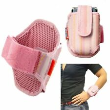 Wrist Case Holder Pink fits Zte Z233