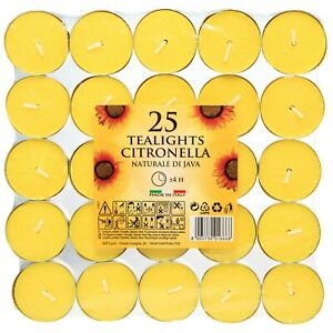 Prices Candles Citronella Scented Tealights - Repels unwanted flying insects