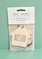 Rae Dunn BLESSED Citrus Summit Scent Three (3) Paperboard Air Fresheners
