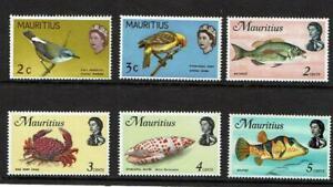 1968 MAURITIUS MNH set of 6