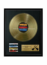 """Rgm1040 The Police Synchronicity Gold Disc 24K Plated Lp 12"""""""