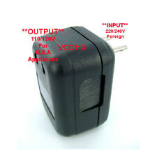 EUROPEAN TRAVEL POWER CONVERTER TRANSFORMER 220 110V