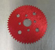 GoPed Pocket Bike Performance Parts GSR Sprocket Gear RED 52 Tooth Sprocket