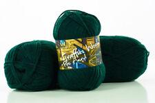 10 x 100g Graffiti Wool Pro Acryl Strickgarn 100% Polyacryl - tanne - by Anune
