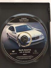 Mercedes-Benz  E, CL S-CLASS COMAND Navigation DVD 2003-1