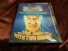 The Man With Two Brains - New and Sealed! Steve Martin, ships super fast.