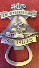 Pirates of the Caribbean Dead Men Tell No Tales Bottle Opener Magnet Disney Park
