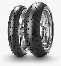 Metzeler Roadtec Z8 Front & Rear Tyres 120/70ZR17 & 180/55ZR17 Motorcycle Tyre