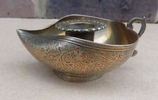Eastern Design Etched Brass Chamberstick