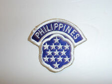 b1879 US Army 1950s-60's Philippines MAAG Military Assistance Advisory Group R8D