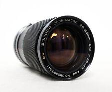 SOLIGOR JAPAN 28-80mm 3.5-4.5 MC Macro Zoom Lens for PENTAX K PK SLR DSLR fit