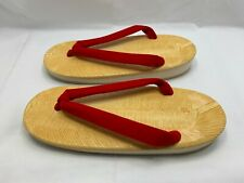 Japanese Traditional Sandals Zori Setta for Ladies Red Size 25cm from Japan