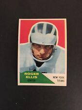 1960 FLEER FOOTBALL (HIGH GRADE) SET BREAK  #119   R0GER  ELLIS    NM-MT