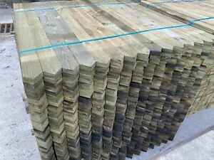 Premium Picket Garden Fencing Pales Timber Treated Wood Fencing Panels Boards