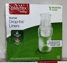 Playtex Nurser Drop In Liners 4 oz 150 Ct