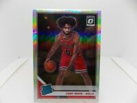 2019-20 Donruss Optic Coby White #180 Rated Rookie Silver Holo Chicago Bulls