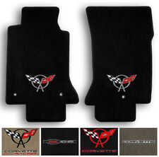 Lloyd Carpet 2pc Floor Mats for 1997-2004 Corvette C5 - Choose Color & Logo