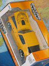 1/24 JADA BIGTIME MUSCLE 1972 PONTIAC FIREBIRD TRANS AM YELLOW BRAND NEW & RARE