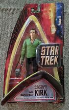 Star Trek Captain James T Kirk With Starfleet Gear Art Asylum Original Series