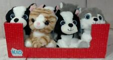 NEW CASE OF 8 Kid Connection Stuffed Animal Plush Dogs Cats