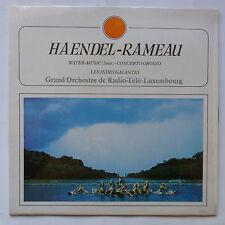 haendel rameau Water music Indes galantes Radio Tele Luxembourg louis de froment