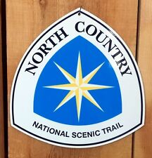 """North Country Scenic Trail Sign 11.5""""x12"""""""