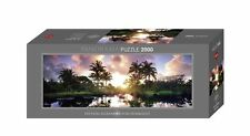 Heye Puzzle Jigsaw - Panorama , 2000 Pc - Palmiers, édition Humboldt HY29676