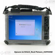 XpLore ix104c5 Rugged Tablet i7-U620 1.07GHz 4GB RAM 80GB SSD Win7 Pro (#399240)