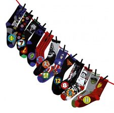 Marvel - Star Wars - DC Universe - Socken Adventskalender