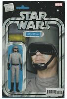 Star Wars #68 2019 Unread AT-ST Driver Action Figure Variant Cover Marvel Comics