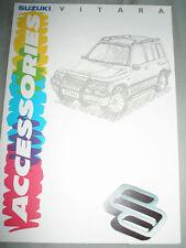 Suzuki Vitara Accessories brochure Oct 1991
