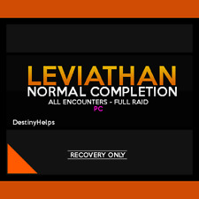 Leviathan Normal FULL Raid Completion (PC / Cross Save)