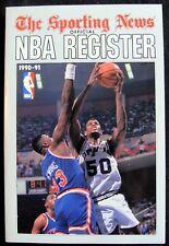 1990-71 SPORTING NEWS NATIONAL BASKETBALL ASSOCIATION NBA REGISTER - EX-MT