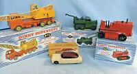 Job lot 4 Vintage Dinky Toys with Boxes Nos; 963,972,171 & 661