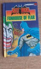 Vintage Bat Man Fun house of Fear Ladybird Book 1989 Series 8918