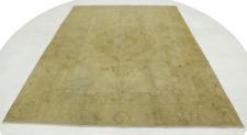 Vintage Perserteppich modern edel beige 340x230 Used Look handgeknüpft 177286