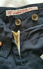 Slim Flat Front Shorts for Men's Retro