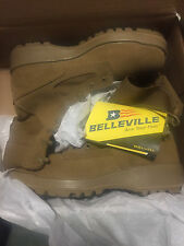 NEW Belleville Coyote Army Combat Boots Steel Toe  size 9.5R