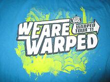 "2011 VANS ""WE ARE WARPED TOUR"" Concert (XL) T-Shirt"