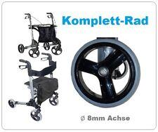 Leichtgewichtrollator Rad Rollator Komplettreifen 190x30mm Ø8mm Achse LRX Reifen