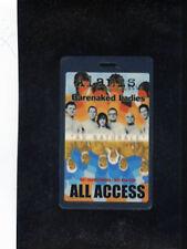 Barenaked Ladies - Alanis Morisette - Au Naturale Laminate PASSall access pass
