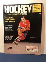 Vintage Hockey Illustrated Magazine 1964 Boom Boom Montreal Canadiens Russia NHL
