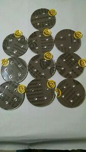 """Klingspor 5"""" 5 Holes 36 Grit Disk, Lot of 5 with FREE SHIPPING"""