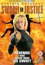 Sworn To Justice DVD Cynthia Rothrock Tony Lo Bianco Paul Maslak Brand New