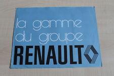 159688) Renault - Modellprogramm - Prospekt 197?