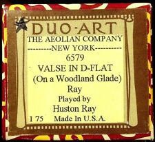 DUO-ART Ray VALSE IN D-FLAT (On a Woodland Glade) 6579 Player Piano Roll