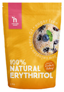 Naturally Sweet Erythritol 2500g Pouch