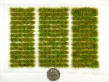 Small ROUGH GRASS 266 PREMIUM Self-Adhesive Tufts/Sht USA Shipping & UK Quality